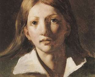 Young blond man — Теодор Жерико