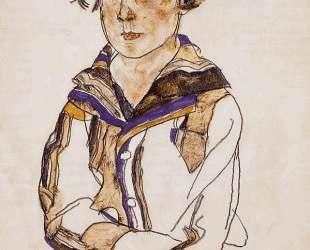 Young Boy — Эгон Шиле