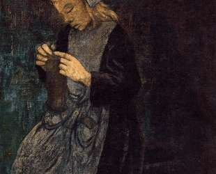 Young Breton (The Little Knitter) — Поль Серюзье