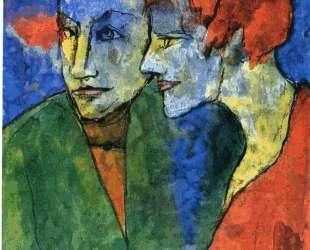 Young Couple — Эмиль Нольде