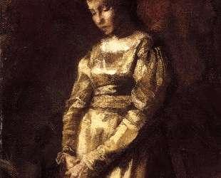 Young Girl Meditating (study) — Томас Икинс