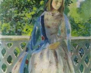Девушка на балконе — Виктор Борисов-Мусатов