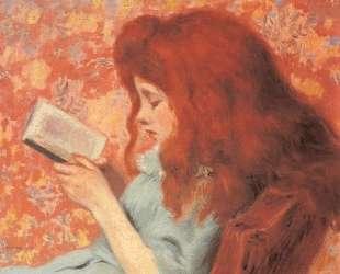 Young Girl Reading — Федерико Дзандоменеги