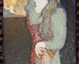 Young Girl Wearing an Apron — Морис Дени