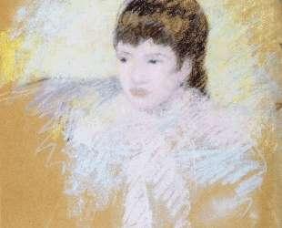 Девочка с каштановыми волосами — Мэри Кассат