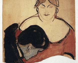 Юноша и проститутка — Эдвард Мунк