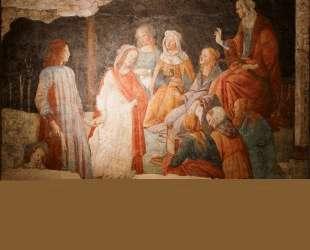 Семь свободных искусств приветствуют юношу — Сандро Ботичелли