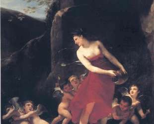 Young Naiad Tickled by the Cupids — Пьер Поль Прюдон