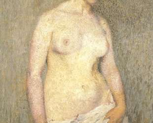 Young Nude Woman — Анри Мартен