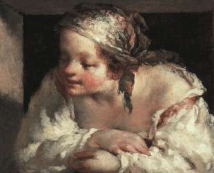 Молодая женщина — Жан-Франсуа Милле