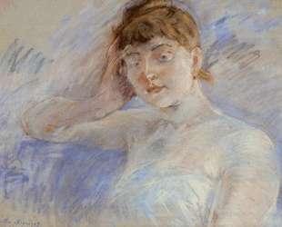 Young Woman in White (aka Isabelle Lemmonier) — Берта Моризо
