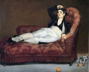Young Woman Reclining in Spanish Costume — Эдуард Мане