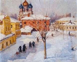 Проходной двор в Замоскворечье — Игорь Грабарь