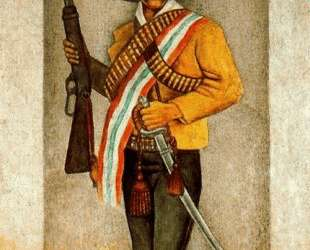 Zapata — Диего Ривера