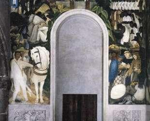 Zapata's Horse — Диего Ривера