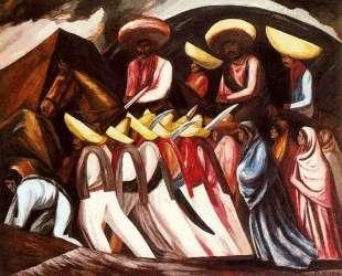 Zapatista's Marching — Хосе Клементе Ороско