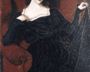 Zorka Banyai in a Black Dress — Йожеф Рипль-Ронаи