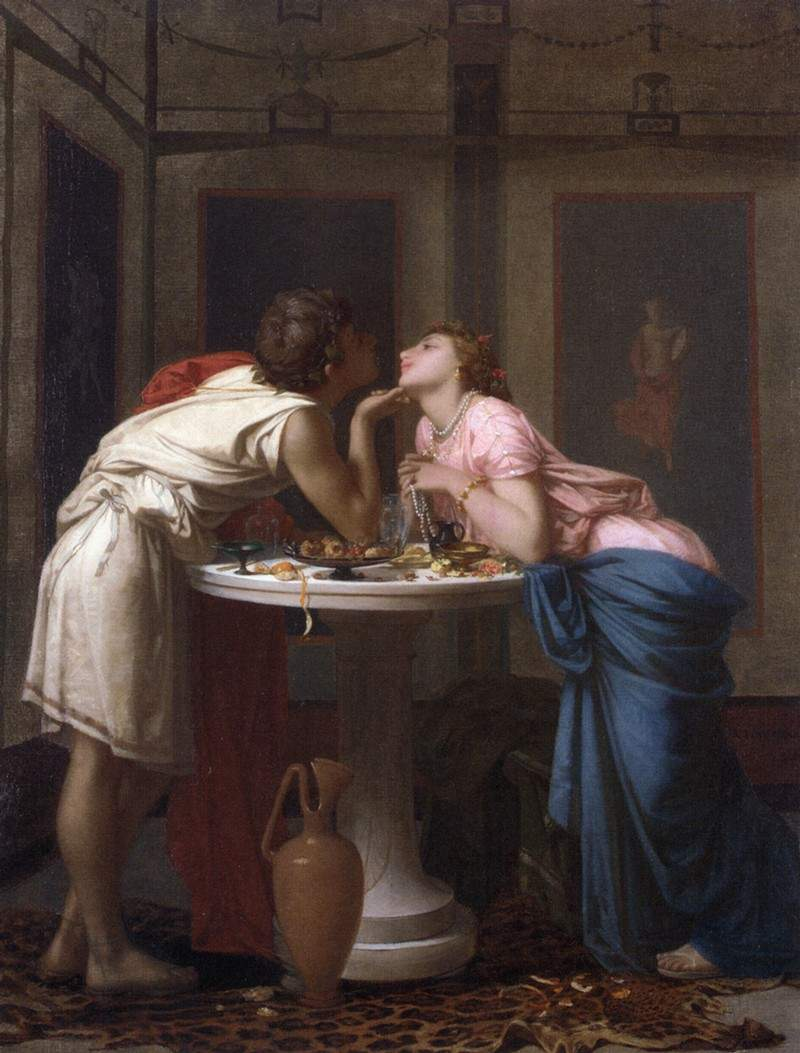 A Classical Courtship — Огюст Тульмуш