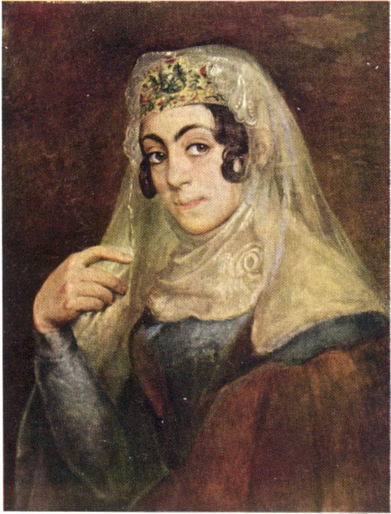A portrait of a Georgian woman — Василий Тропинин