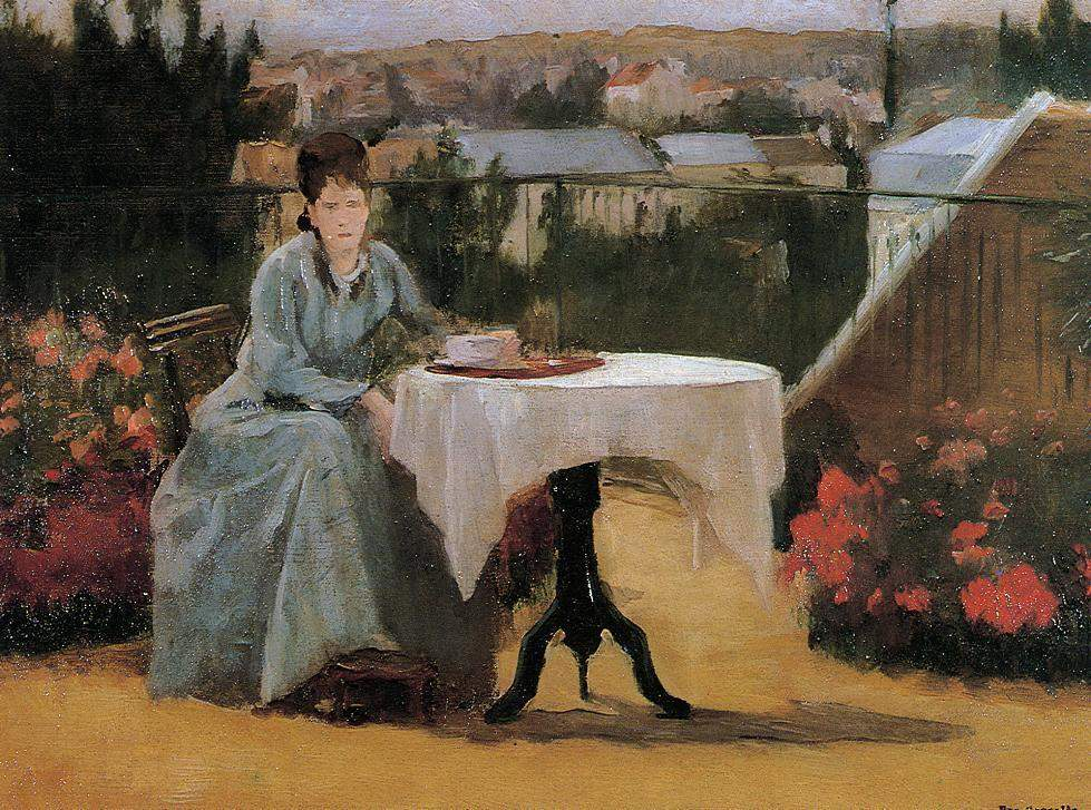 Afternoon Tea (aka On the Terrace) — Ева Гонсалес