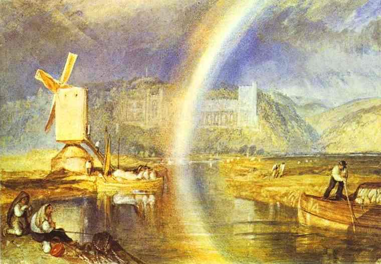 Arundel Castle, with Rainbow — Уильям Тёрнер