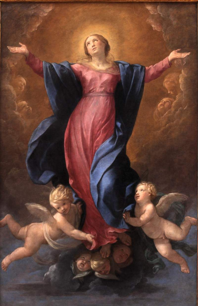 Assumption of the Virgin — Гвидо Рени