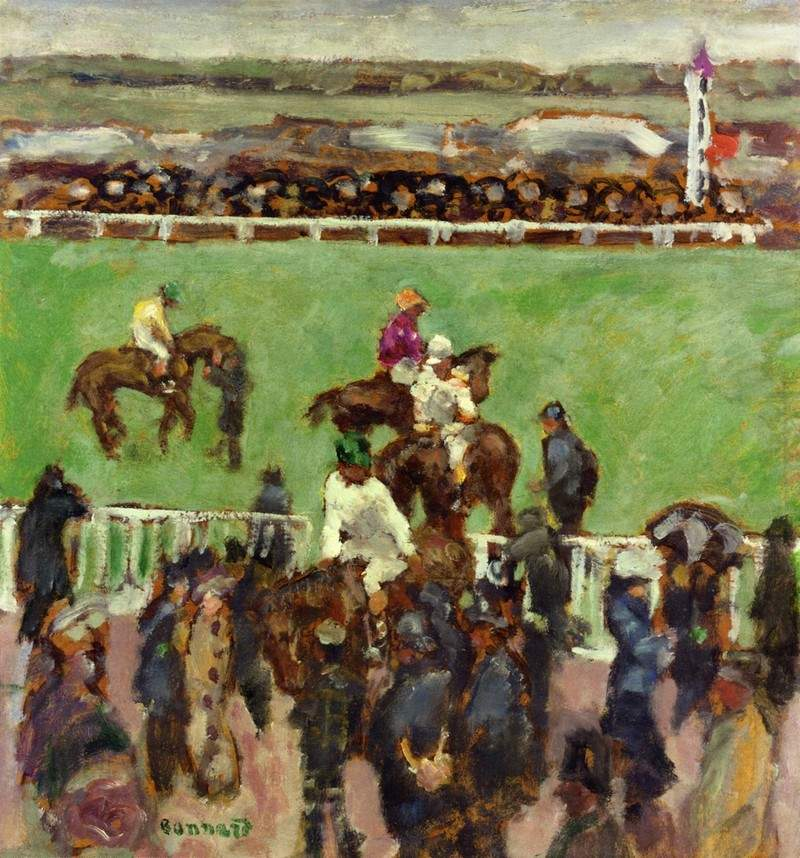 At the Races, Longchamp — Пьер Боннар