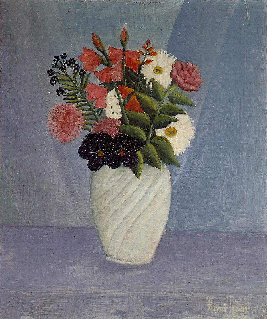 Bouquet of Flowers — Анри Руссо