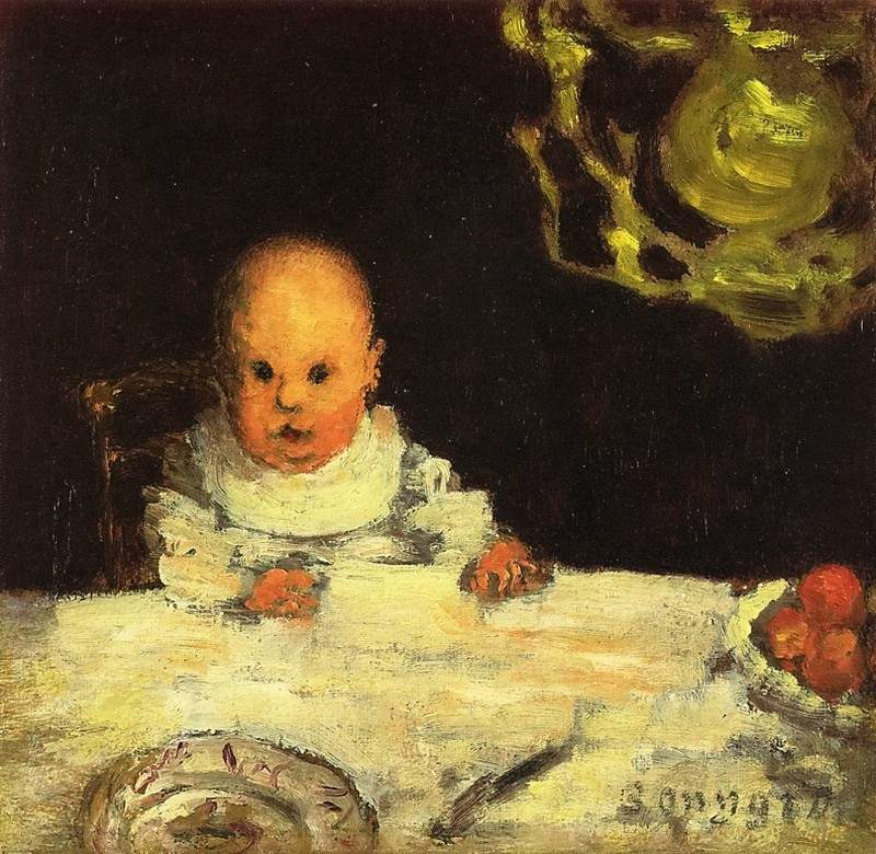 Child at Table — Пьер Боннар