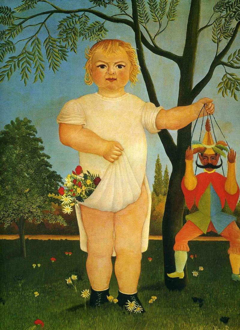 Child with a Puppet — Анри Руссо