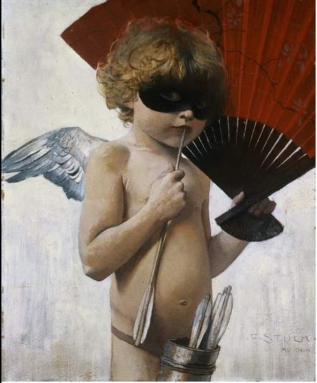 Cupid at The Masked Ball — Франц фон Штук