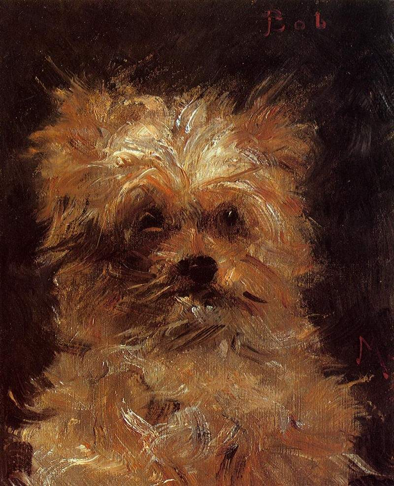 Head of a Dog — Эдуард Мане