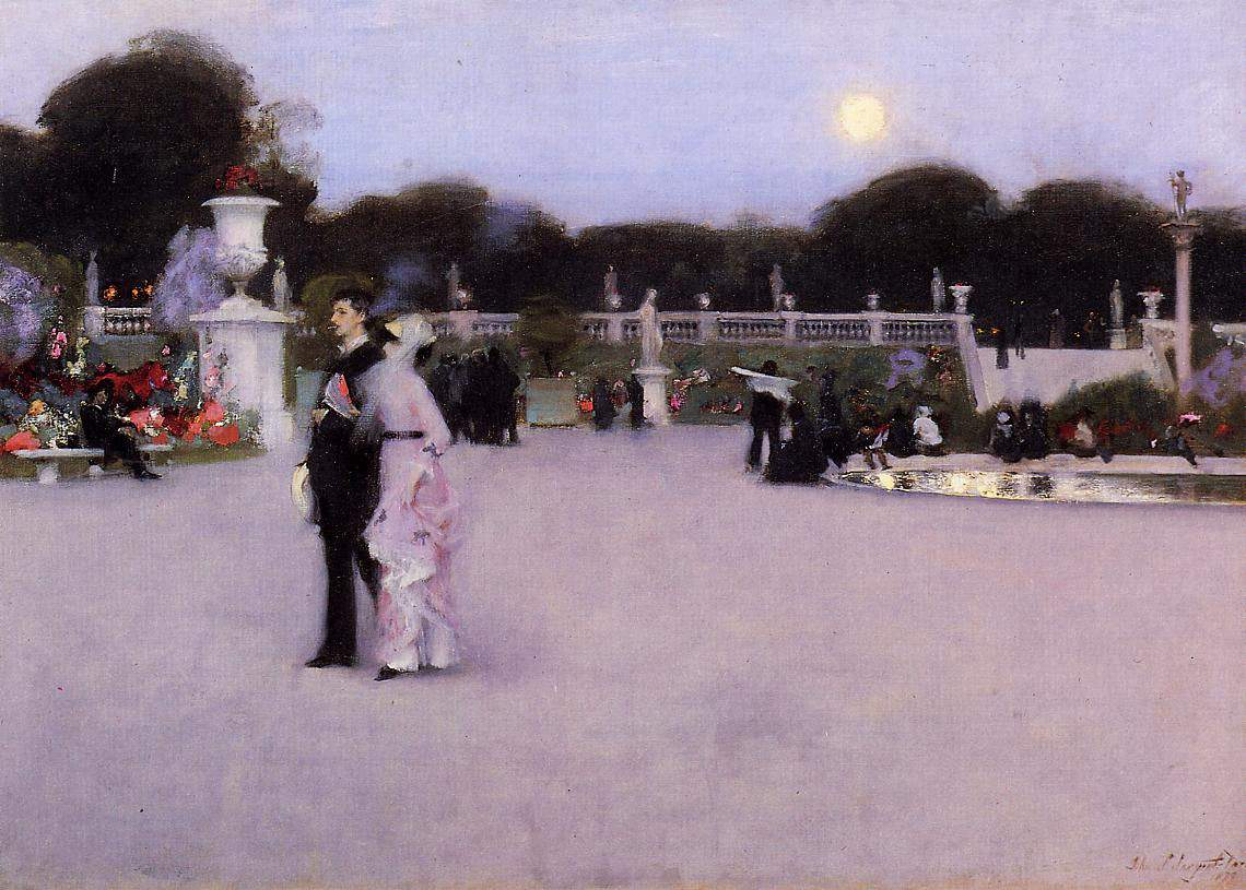 Luxembourg Gardens at Twilight — Джон Сингер Сарджент