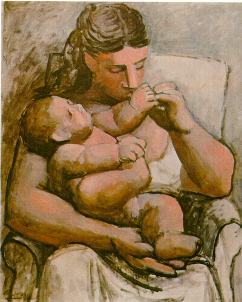 Mother and child — Пабло Пикассо