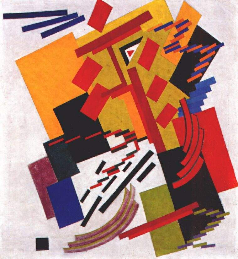 Non-Objective Composition (Suprematism) — Ольга Розанова
