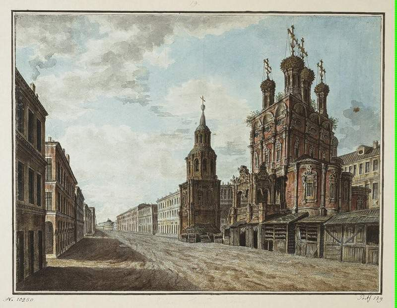 November 7, 1824 in the square in front of the Bolshoi Theatre — Фёдор Алексеев