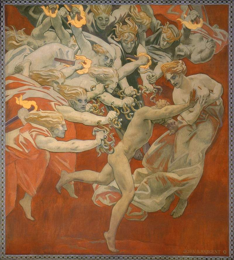 Orestes Pursued by the Furies — Джон Сингер Сарджент
