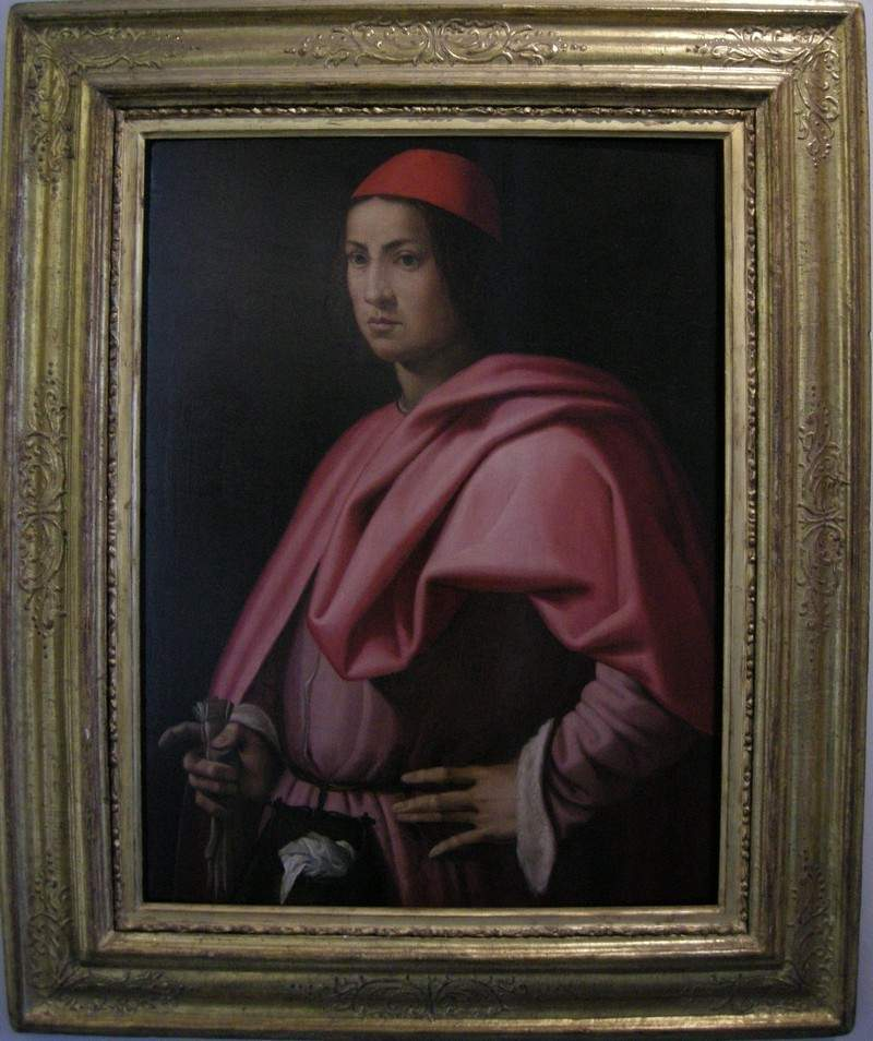 Portrait of a gentleman of Florence — Джорджо Вазари