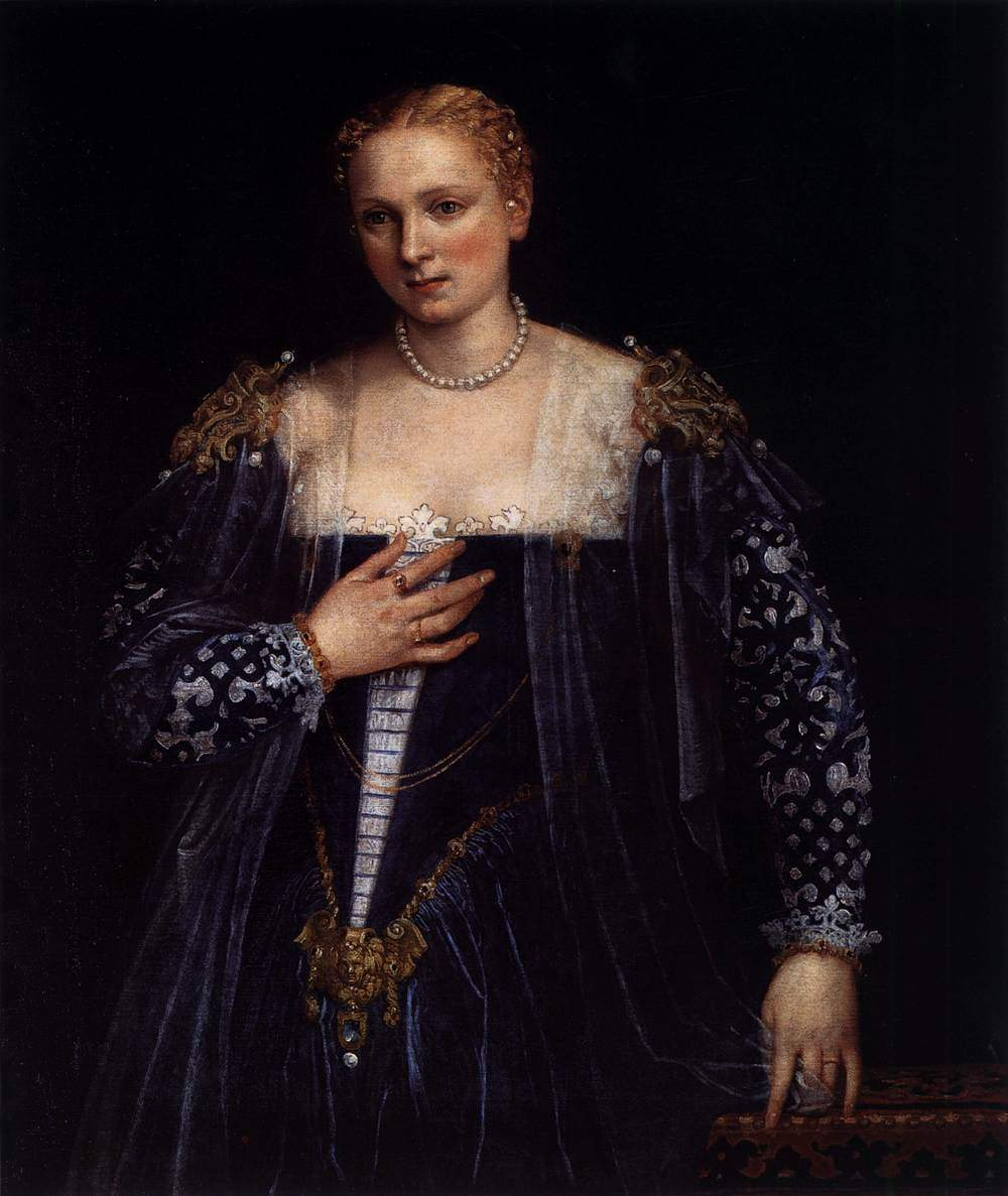 Portrait of a Venetian Woman (La Belle Nani) — Паоло Веронезе