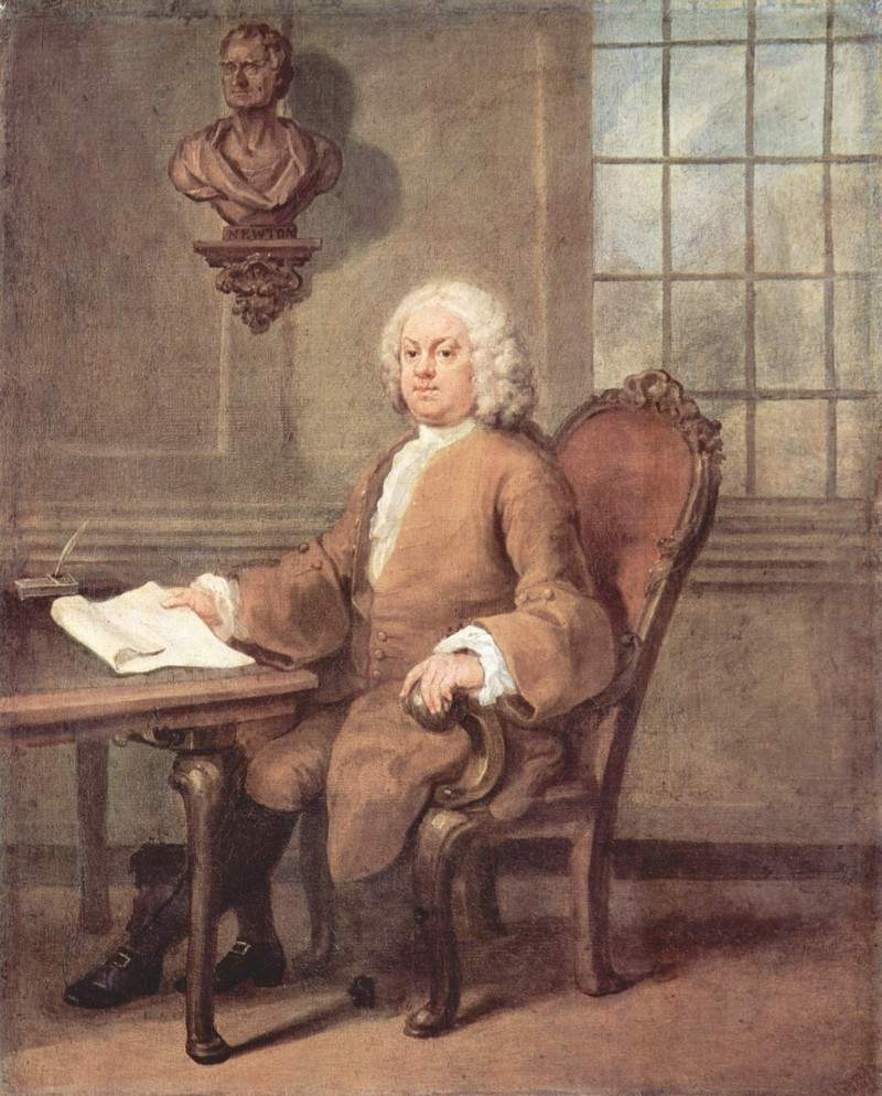 Portrait of Dr. Benjamin Hoadly — Уильям Хогарт