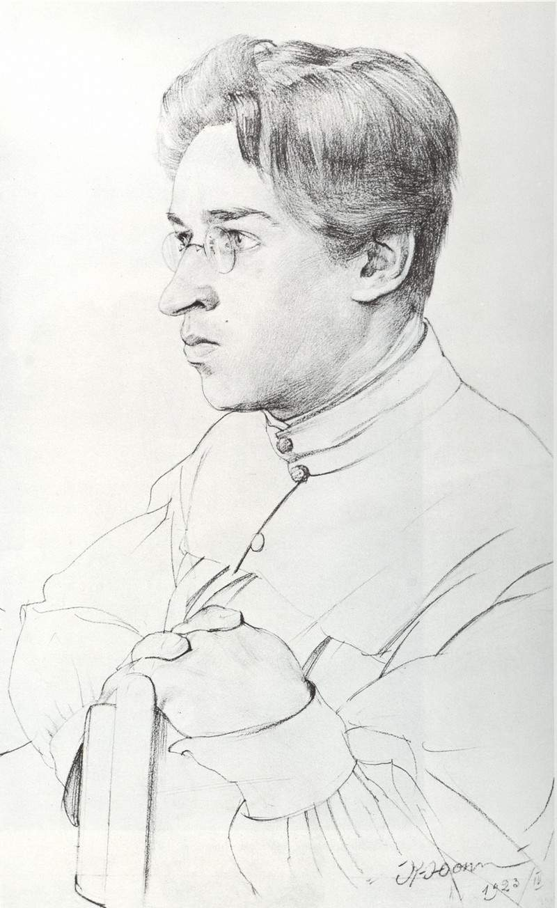 Portrait of I. K. Yuon, the artist's son — Константин Юон