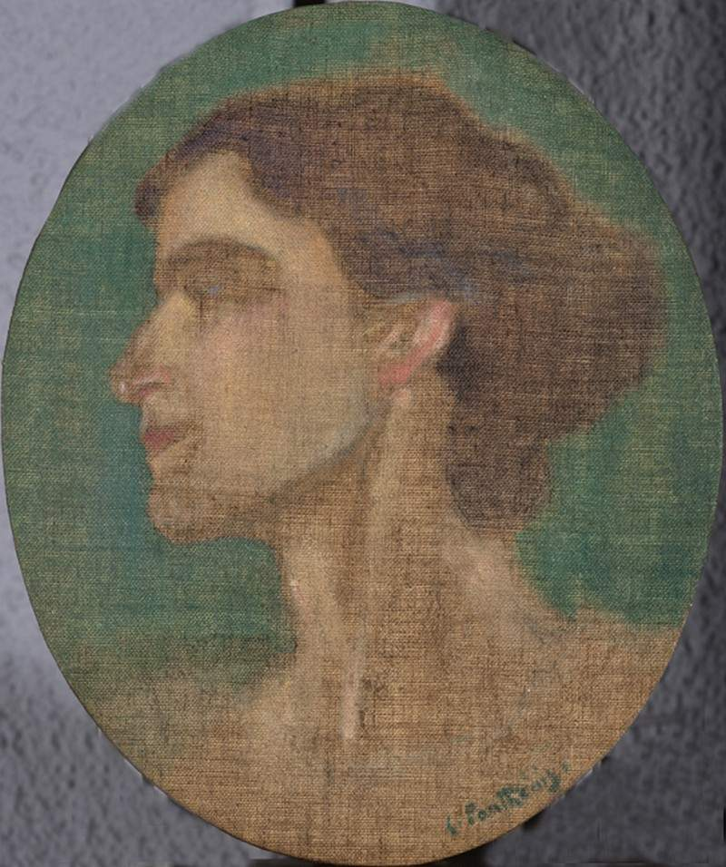 Portrait of Ioulia Partheni — Константинос Партенис