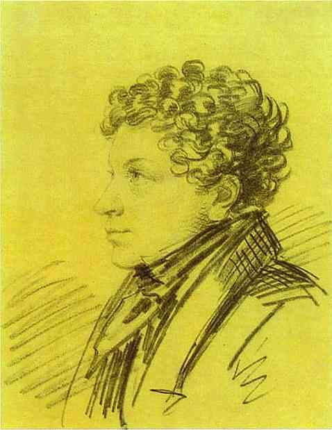 Portrait of Leo Pushkin — Александр Орловский