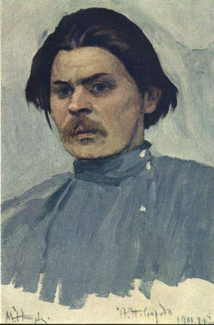 Portrait of Maxim Gorky — Михаил Нестеров