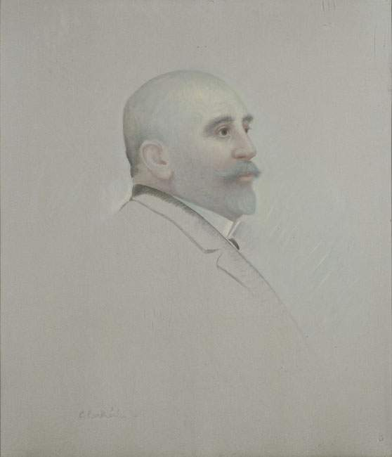 Portrait of P. Papathanasiou — Константинос Партенис