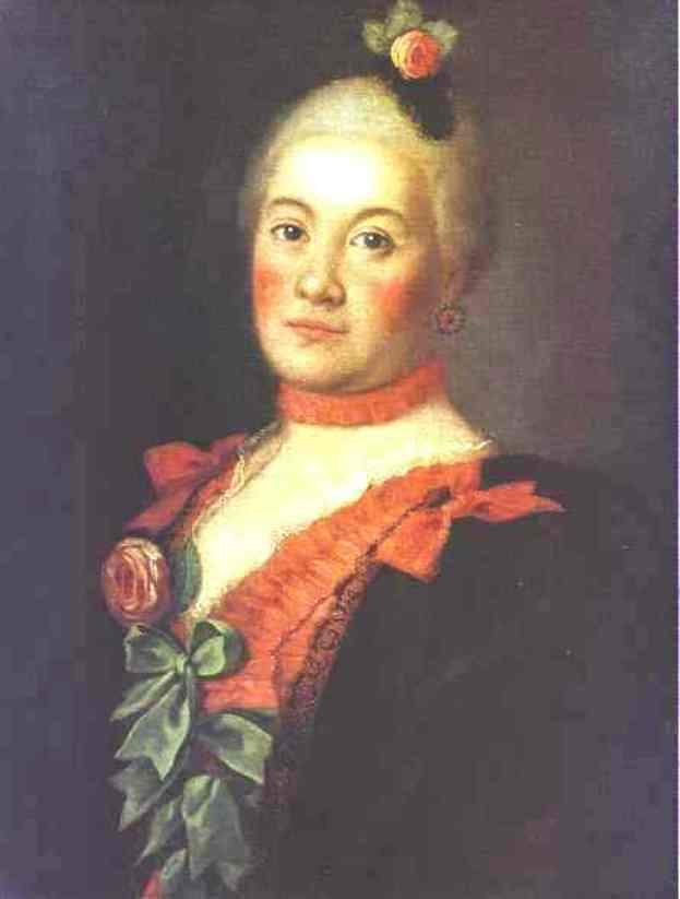 Portrait of Princess T. A.Trubetzkaya — Алексей Антропов