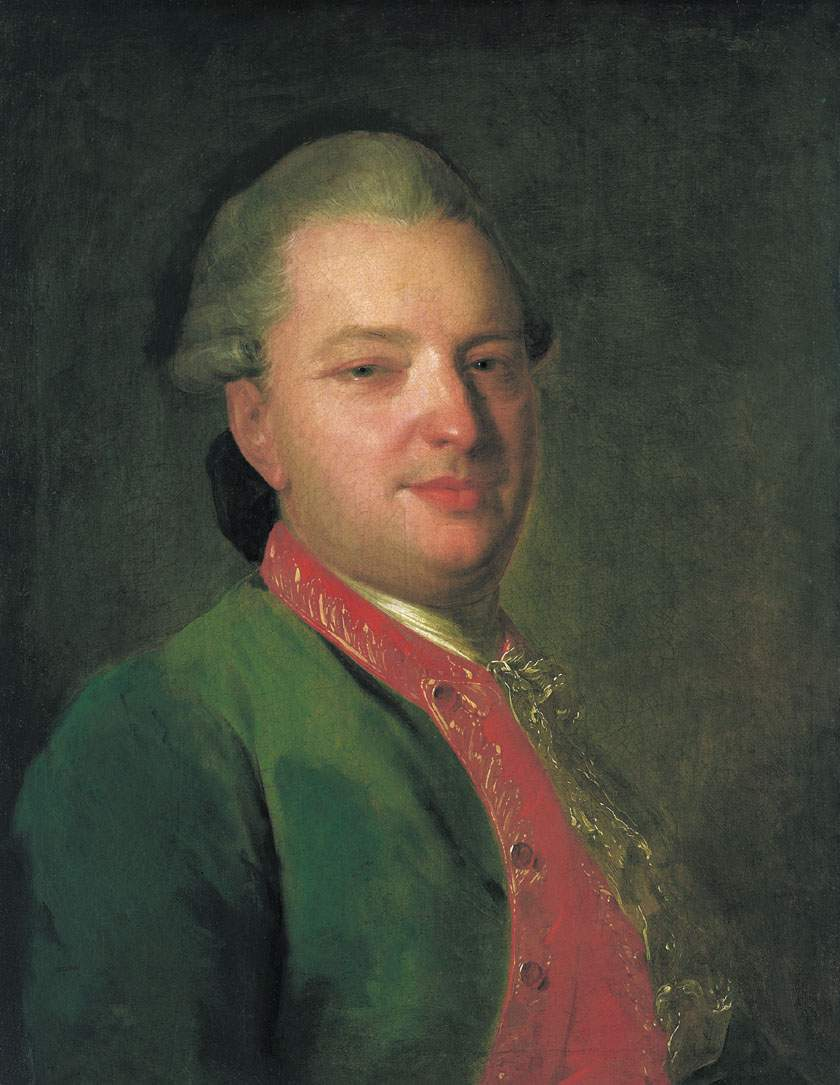 Portrait of the Poet Vasily Maykov — Фёдор Рокотов