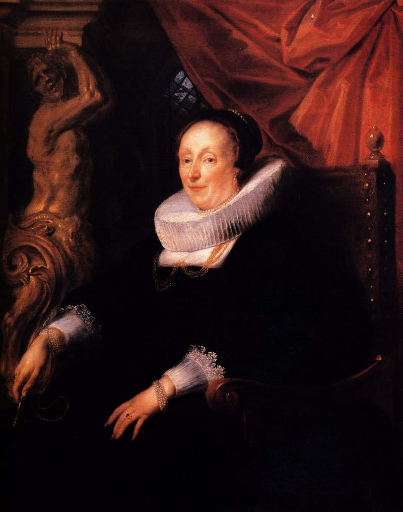 Portrait of the wife of Johan Wierts — Якоб Йорданс
