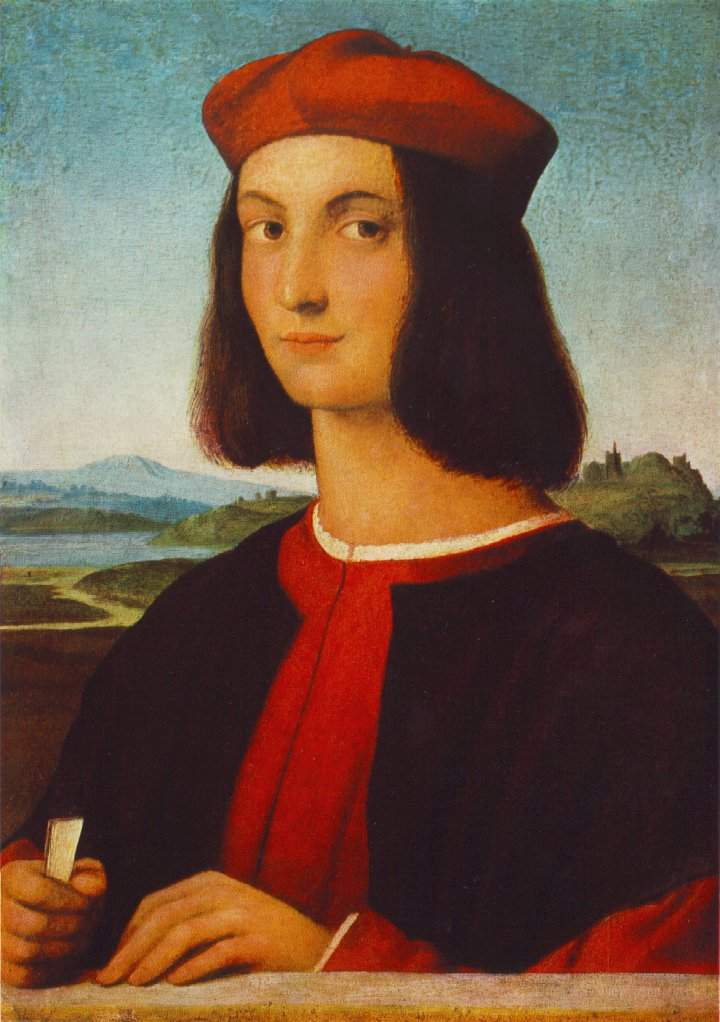 Portrait of the Young Pietro Bembo — Рафаэль Санти