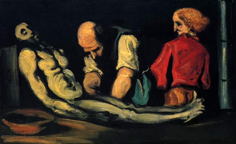 Preparation for the Funeral — Поль Сезанн